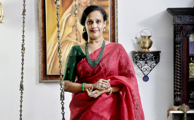 Successful woman Sheela Kochouseph Chittilapally, Managing Director, V-Star