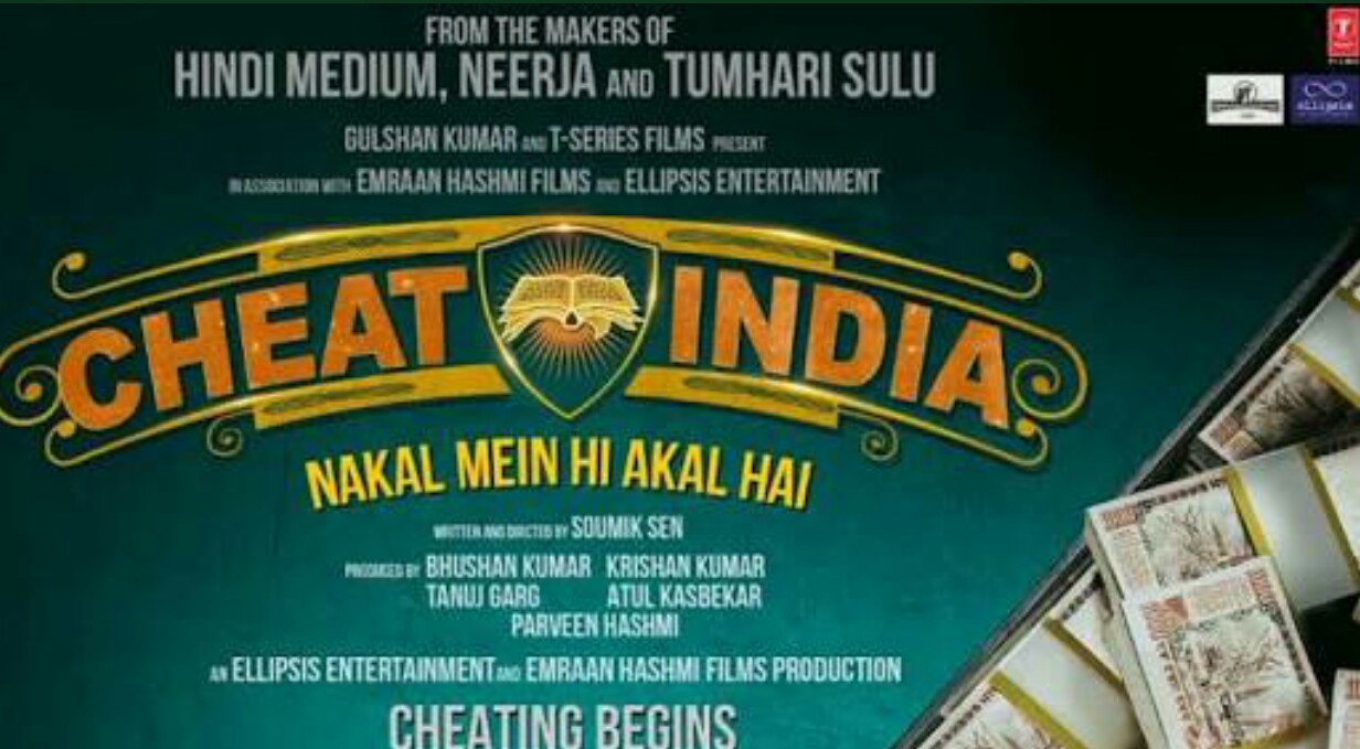 Teaser Poster Of Emraan Hashmi S Cheat India Unvieled