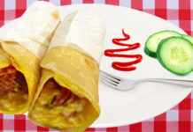 CHAPATI EGG ROLL
