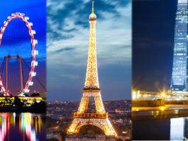 Singapore, Paris and Hong Kong