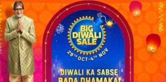 Flipkart Big Diwali Sale Starts on October 29