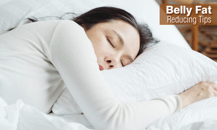 Good night's Sleep can Reduce Belly Fat