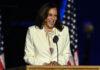Kamala Harris' victory speech