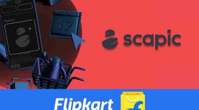 Flipkart and Scapic