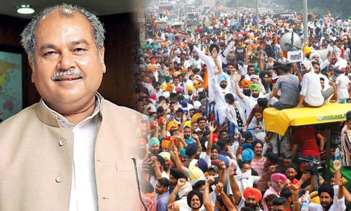 Union Minister's Eight Page Letter for the Protesting Farmers