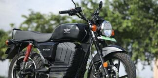 KRIDN Electric Motorcycle