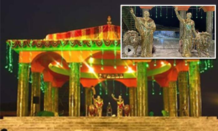Temple for Jayalalithaa and MGR