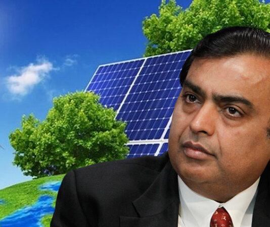 Mukesh Ambani Acquires Solar Companies to Boost Green Energy